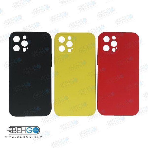 قاب iPhone 12 pro max کاور با محافظ لنز دوربین گوشی ایفون Apple iPhone 12 pro max گارد سیلیکونی  iPhone 12pro max کاور محافظ آیفون دوازده پرو مکس  Silicone Case For Apple iPhone 12 Pro Max