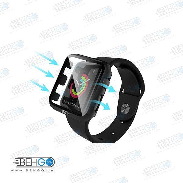 قاب گلس اپل واچ 38mm محافظ صفحه نمایش اپل واچ شیشه ای apple watch  Glass Protector for Apple watch 38mm