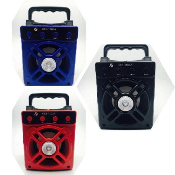 اسپیکر بلوتوثی قابل حمل کی تی اس مدل Portable Wireless Bluetooth Speaker KTS-1103A