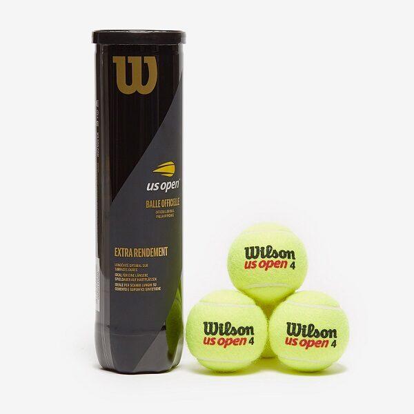 توپ تنیس ویلسون مدل US Open بسته 4 عددی Wilson US Open Tennis Ball Pack of 4