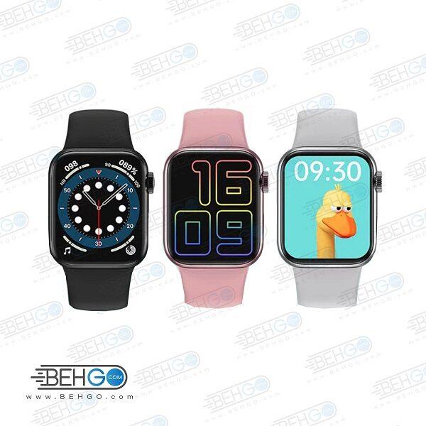 ساعت هوشمند واچ فون مدل HW16 اصلی سری 6 ساعت طرح اپل واچ ساعت مچی هوشمند اورجینال مدل HW16 SMART WATCH Series 6