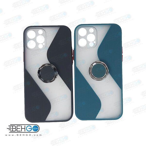 قاب گوشی آیفون  iphone 12 PRO کاور پاپ سوکت دار با محافظ لنز دوربین IPhone 12 pro
