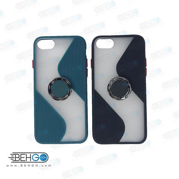 قاب گوشی آیفون  iphone 6   کاور پاپ سوکت دار با محافظ لنز دوربین IPhone 6/6s