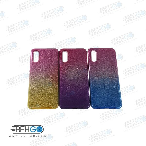 قاب گوشی سامسونگ A02 مدل ژله ای اکلیلی اصلی  Samsung A02 گارد مناسب گوشی  A02 کاور محافظ Alkyd Jelly Case Samsung A02