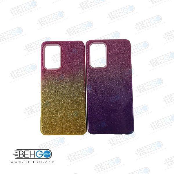 قاب گوشی سامسونگ A52 مدل ژله ای اکلیلی اصلی Samsung A52 گارد مناسب گوشی A52 کاور محافظ Alkyd Jelly Case Samsung A52