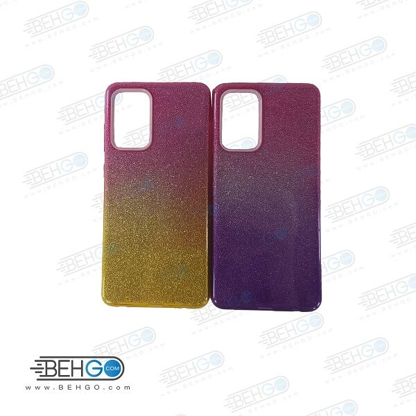 قاب گوشی سامسونگ A72 کاور اکلیلی محافظ Alkyd Jelly Case Samsung A72