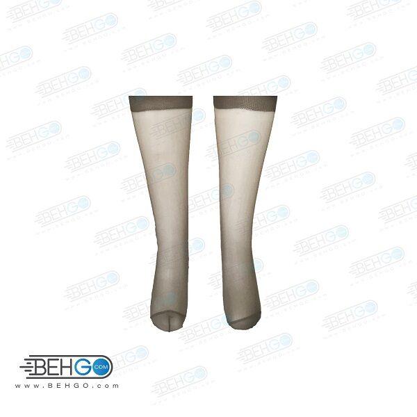جوراب ساق بلند زنانه پک 2 عددی KNASTRUMPA MODEL 10902
