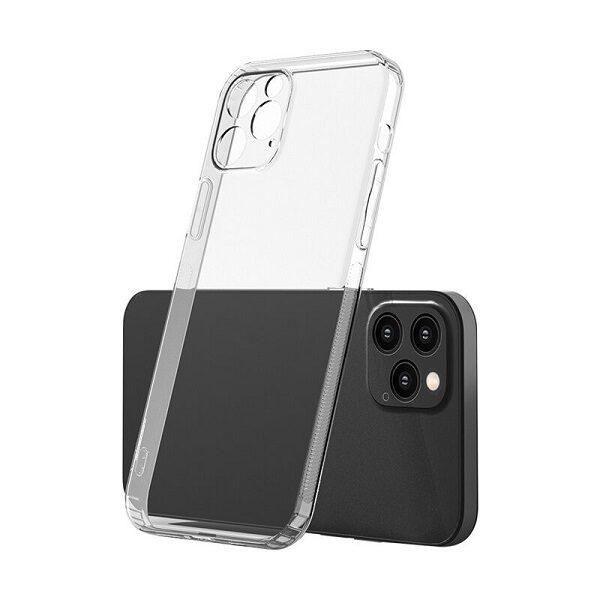 قاب ایفون 13 مینی کاور ژله ای شفاف با محافظ لنز دوربین گوشی اپل ایفون Apple iPhone 13 Mini