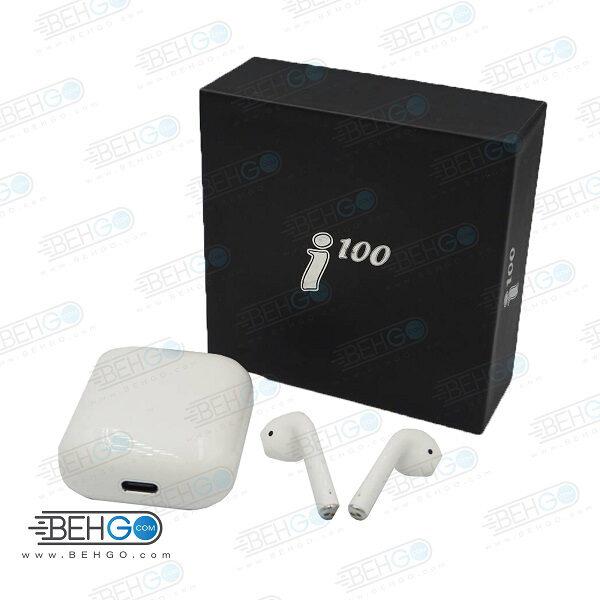 هدفون بی سیم هندزفری بلوتوثی مدل i100 دو گوش HEADPHONE i100